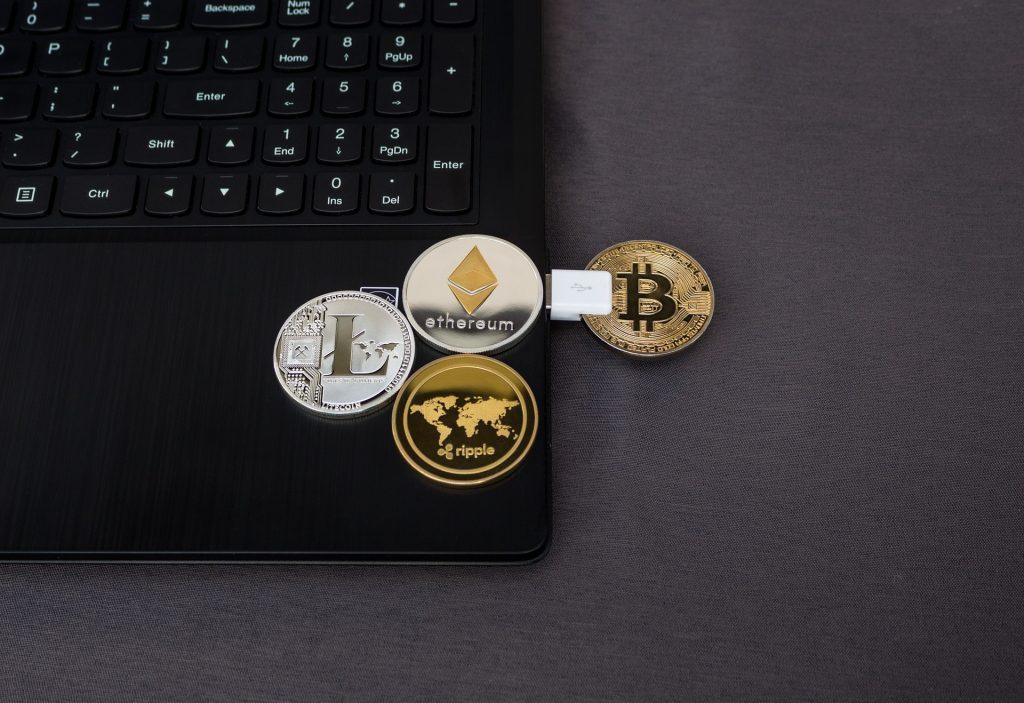 Cryptocurencies wallet, bitcoin, litecoin, ethereum, ripple